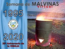 Por primera vez la Vigilia por Malvinas fue virtual